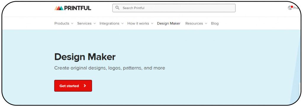 Design Maker: Printful - Mockup Generator -