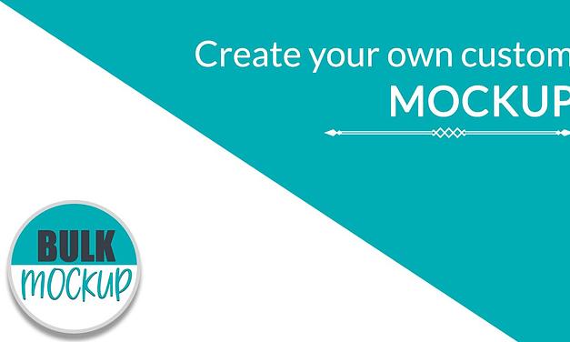 Create Mockup Template to use with Bulk Mockup