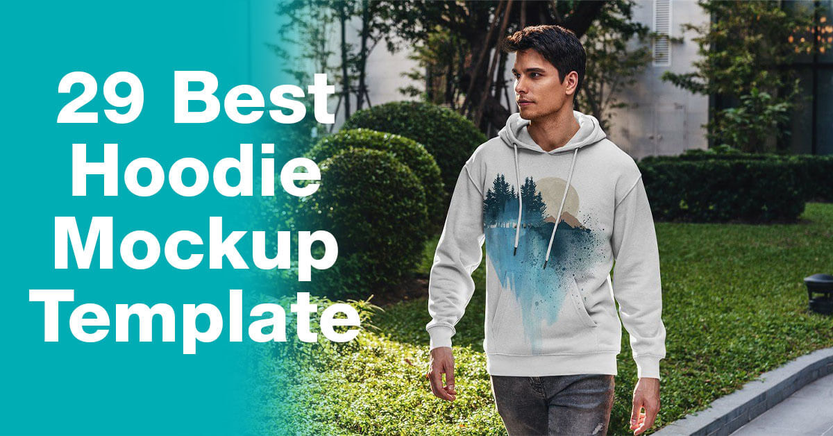 29 Best Hoodie Template for your Print on Demand Store
